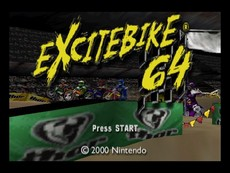 Excitebike 64 in-game