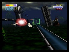 Lylat Wars in-game