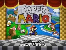Paper Mario in-game