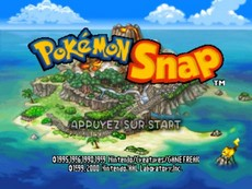 Pokemon Snap in-game
