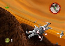 Star Wars Rogue Squadron in-game