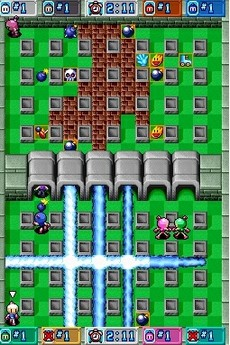 Bomberman Blitz in-game