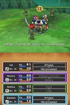 Dragon Quest IX : Les Sentinelles du Firmament in-game