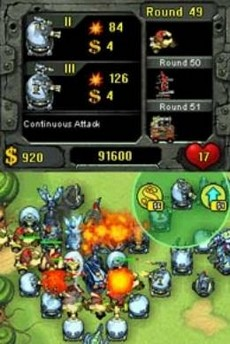 Fieldrunners in-game