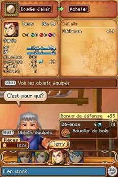 Golden Sun : Obscure Aurore in-game