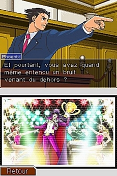 Phoenix Wright : Ace Attorney : Justice for All in-game