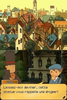Professeur Layton Et Le Destin Perdu in-game