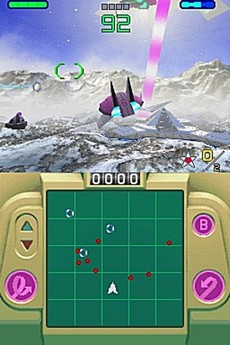 StarFox Command in-game