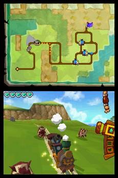 The Legend Of Zelda : Spirit Tracks in-game