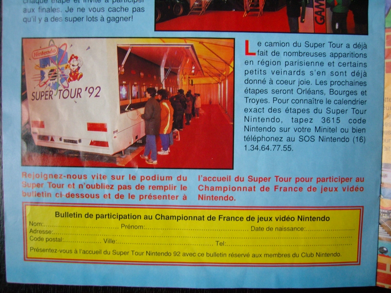 Nintendo Super Tour '92