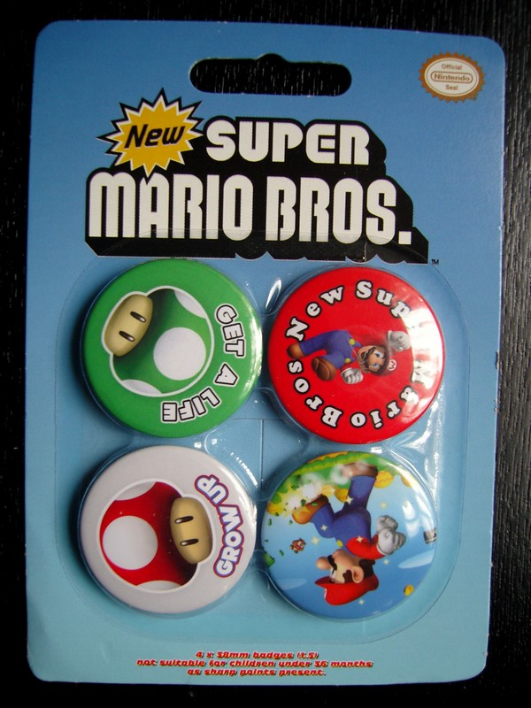 Badges New Super Mario Bros.