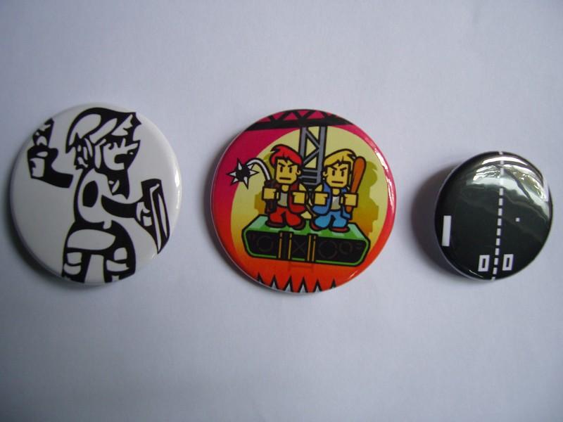 Badges jeux vidéo
