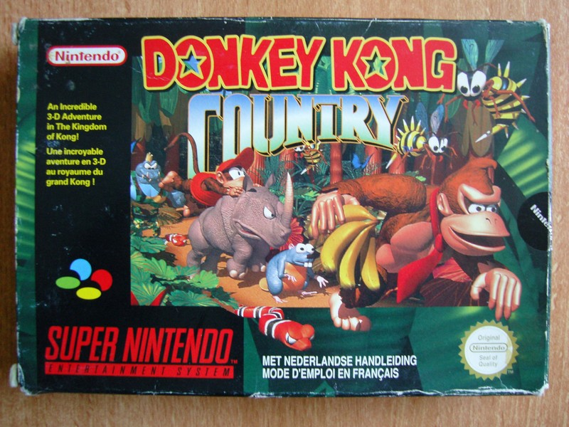 Boîte Donkey Kong Country