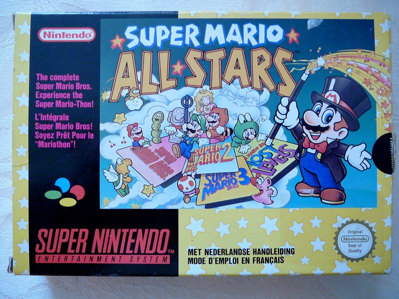 Boîte Super Mario All-Stars