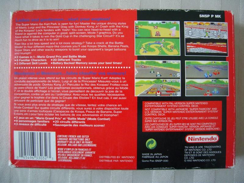 Super Mario Kart - série super classic