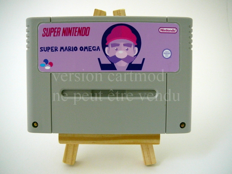 Super Mario Omega (cartmod)