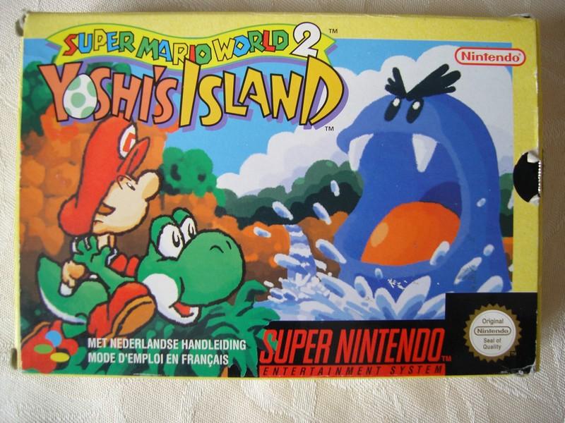 Boîte Super Mario World 2 : Yoshi's Island