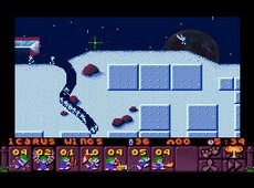 Lemmings 2 : The Tribes in-game