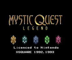 Mystic Quest Legend in-game