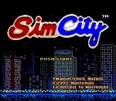 Sim City in-game
