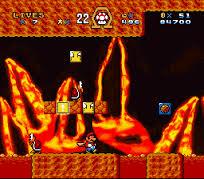 Super Mario Omega (cartmod) in-game