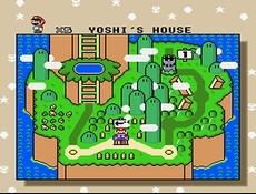 Super Mario World in-game