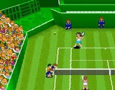 Super Tennis in-game
