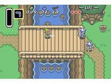 The Legend Of Zelda : A Link To The Past in-game
