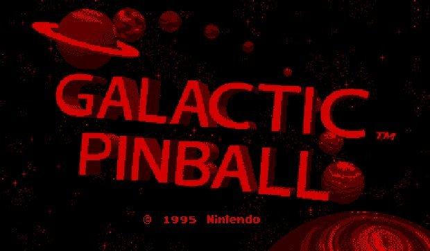 ギャラクティックピンボール - Galactic Pinball in-game