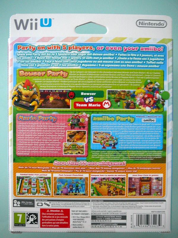 Mario Party 10 Edition Amiibo Mario