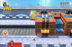 Super Mario 3D World in-game