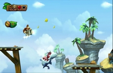 Donkey Kong Country : Tropical Freeze in-game