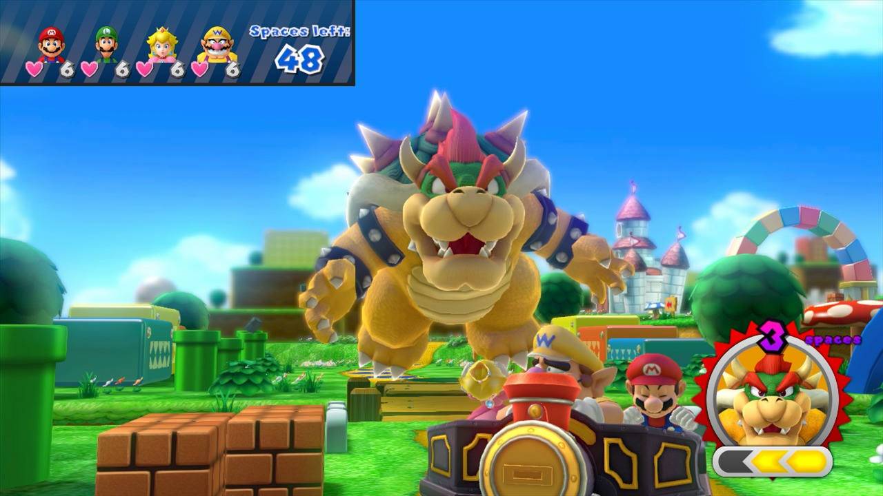 Mario Party 10 Edition Amiibo Mario in-game