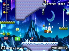 New Super Mario Bros. U in-game