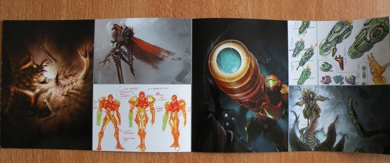 Livret Collector Metroid Prime Trilogy