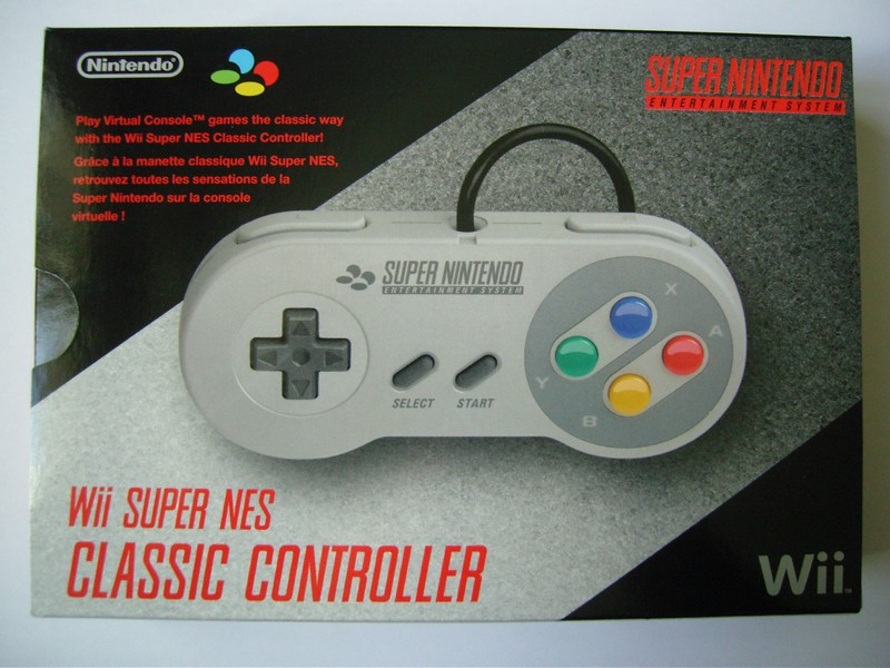 Wii Super NES Classic Controller