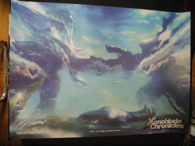 Poster Xenoblade Chronicles