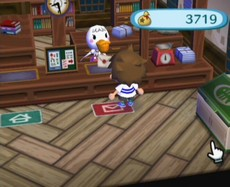 Animal Crossing : Let's Go To The City in-game