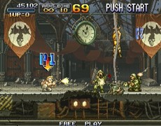 Metal Slug Anthology in-game