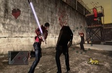 No More Heroes 2 Desperate Struggle in-game