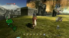 The Legend of Zelda : Twilight Princess in-game